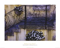 Antique Iron Rail I Fine Art Print