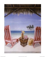 Island Retreat Fine Art Print