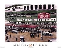 Wrigley Field Fine Art Print