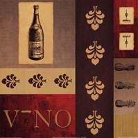 Vino in Red II Fine Art Print