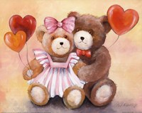Teddy Love Fine Art Print