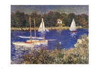 The Bassin at Argenteuil Fine Art Print