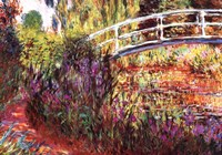 Le Pont Japonais by Claude Monet - various sizes
