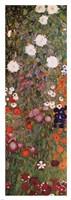 The Flowery Garden (detail) vert., 1907 by Gustav Klimt, 1907 - various sizes