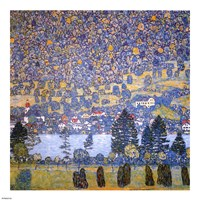 Mountain Slope at Unterach by Gustav Klimt - various sizes
