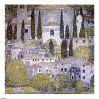Church at Cassone on garda Fine Art Print