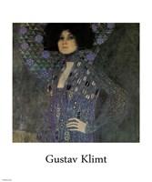 Portrait of Emilie Floege (detail), 1902 by Gustav Klimt, 1902 - various sizes