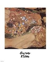 Water Serpents II ( Detail), 1907 by Gustav Klimt, 1907 - various sizes, FulcrumGallery.com brand