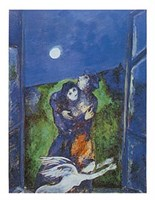 Lovers in the Moonlight Fine Art Print