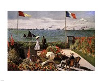 Balcony on the Sea by Claude Monet - various sizes