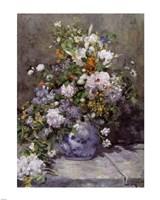 GRANDE VASO DI FIORI by Pierre-Auguste Renoir - various sizes, FulcrumGallery.com brand