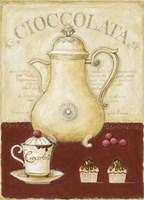 Chot Choclolate and Cup Cake Fine Art Print