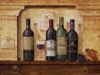 Wine Gathering II Fine Art Print