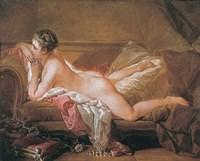 Girl Resting Fine Art Print