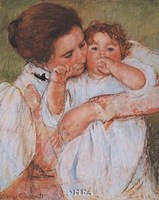 Mother and Child - Detail Fine Art Print