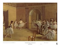 Dance Foyer at the Opera Fine Art Print