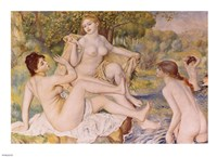 Bathers by Pierre-Auguste Renoir - various sizes