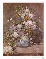 Spring Bouquet, 1866 Framed Print