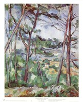 """Landscape Near Aix by Paul Cezanne - 9"""" x 11"""" - $10.49"""