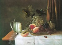 Still Life with Silver Tankard Fine Art Print