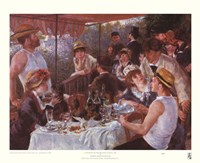 Luncheon of the Boating Party Prints