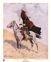 "Blanket Signal by Frederic Remington - 9"" x 11"""