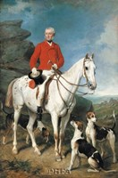 Portrait of Charles Trelawny Fine Art Print