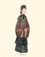 Chinese Mandarin Figure XI Fine Art Print