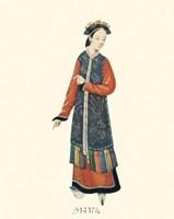 Chinese Mandarin Figure IX Fine Art Print