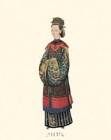 Chinese Mandarin Figure IV Fine Art Print