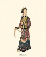 Chinese Mandarin Figure V Fine Art Print