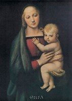 The Madonna Del Granduca Fine Art Print