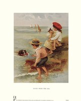 """Saved from the Sea by Paul Cezanne - 8"""" x 10"""""""