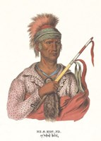 "Ne-O-Mon-Ne, an Ioway Chief by Mckenny & Hall - 12"" x 18"""