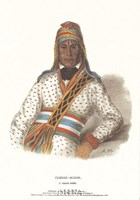 "Yoholo-Micco, a Creek Chief by Mckenny & Hall - 12"" x 18"""