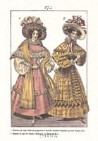 "Millinery Modes - dressed by Robert John Thornton - 9"" x 11"""