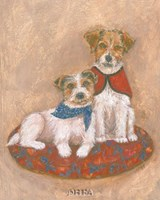 "Jack Russell by Carol Ican - 9"" x 11"""