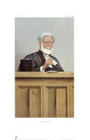 "A Blunt Lord Justice by Spy - 11"" x 18"" - $10.49"