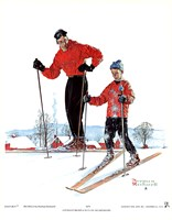 Ski Skills Fine Art Print