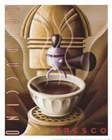 "Cappuccino Fresco by Michael Kungl - 12"" x 15"""