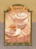 Tea House Fine Art Print
