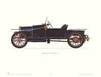 """Bugatti 1910 by Carol Ican - 16"""" x 12"""""""