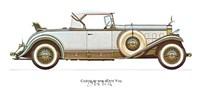 """Cadillac 1931 by Carol Ican - 16"""" x 12"""""""