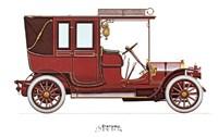 """Fiat 1906 by Carol Ican - 16"""" x 12"""""""