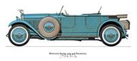 "Hispano Suiza 1926 by Carol Ican - 16"" x 12"""