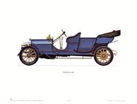 """Lancia 1909 by Carol Ican - 16"""" x 12"""""""
