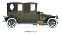 "Renault 1910 by Carol Ican - 16"" x 12"""