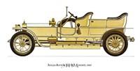 """Rolls-Royce (Silver Ghost) 1907 by Carol Ican - 16"""" x 12"""""""