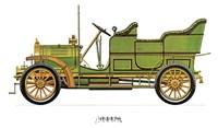 """Spyker 1906 by Carol Ican - 16"""" x 12"""""""