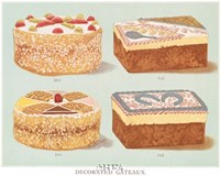 Decorated Gateaux-Occasion Fine Art Print